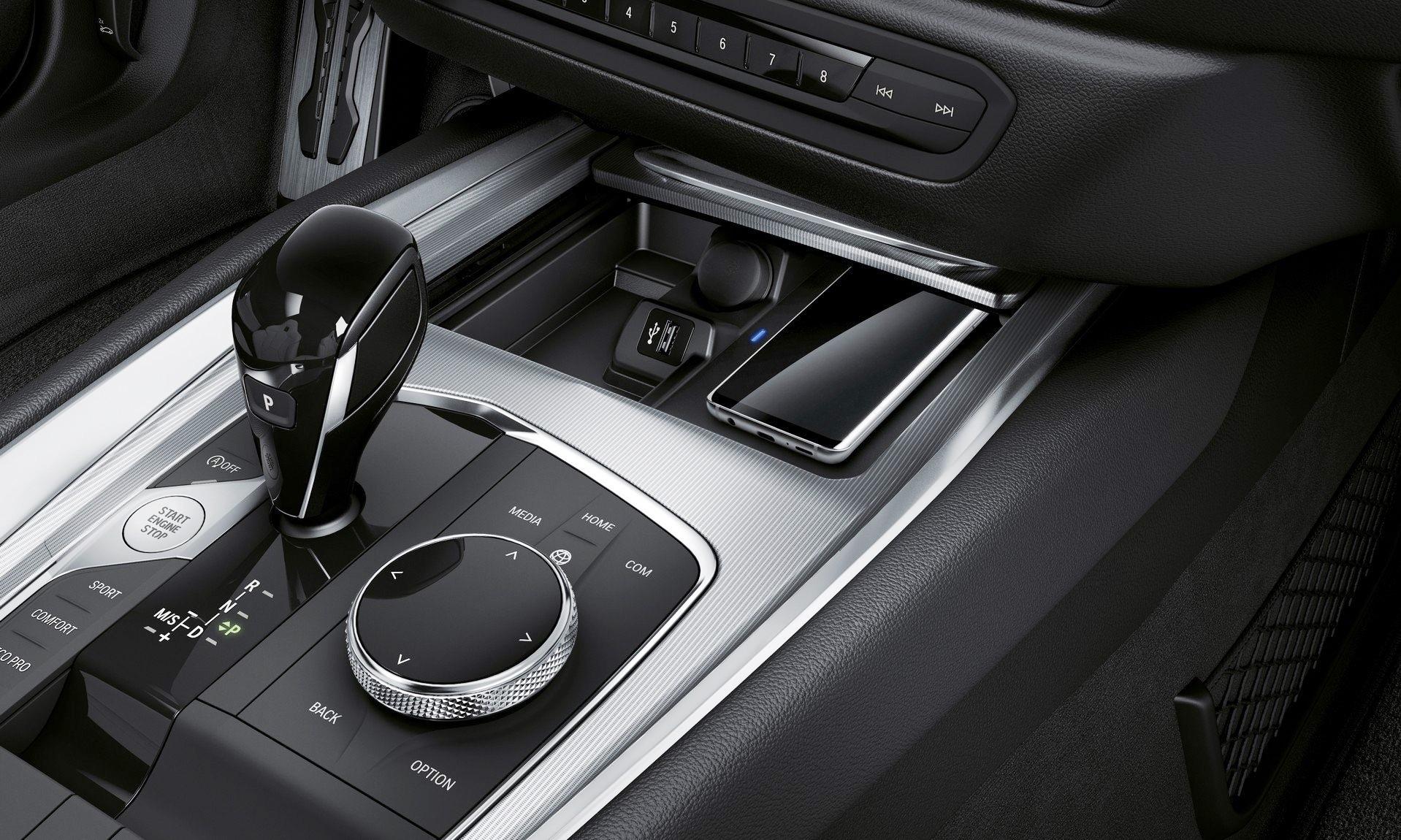 New BMW Z4 console