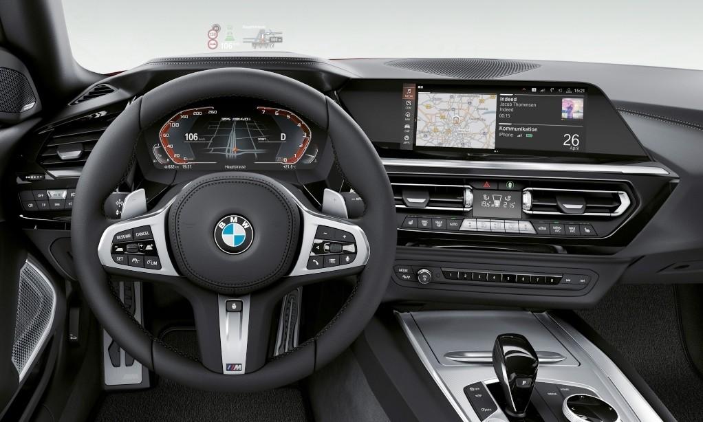 New BMW Z4 facia