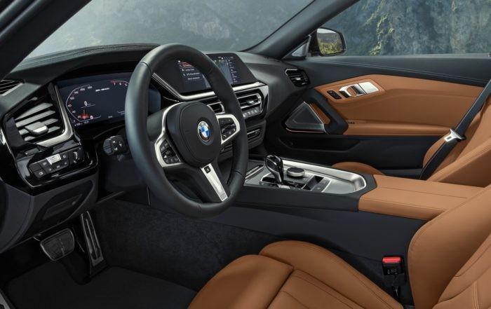 New BMW Z4 interior