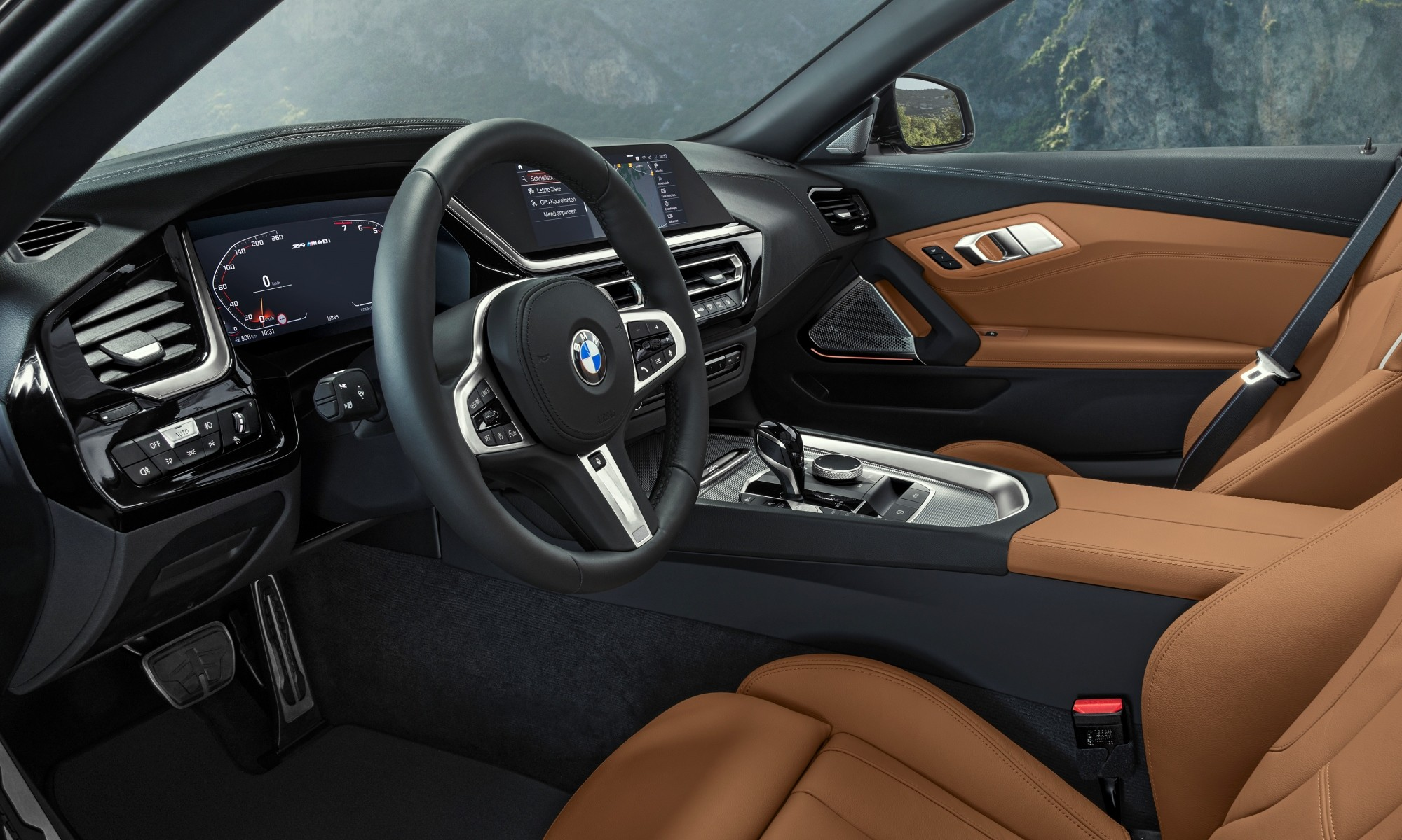 New BMW Z4 interior