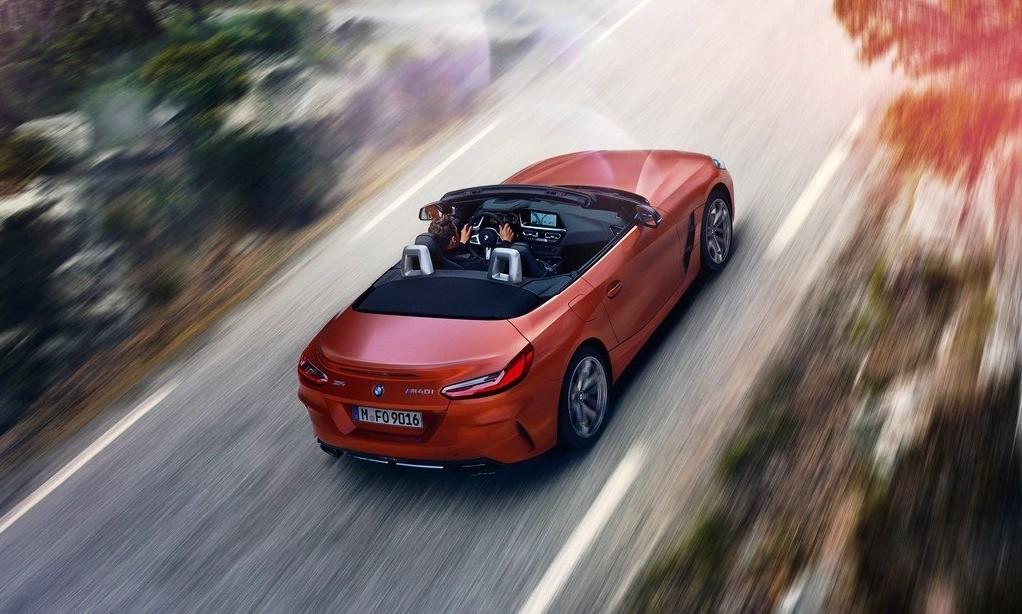 New BMW Z4 rear