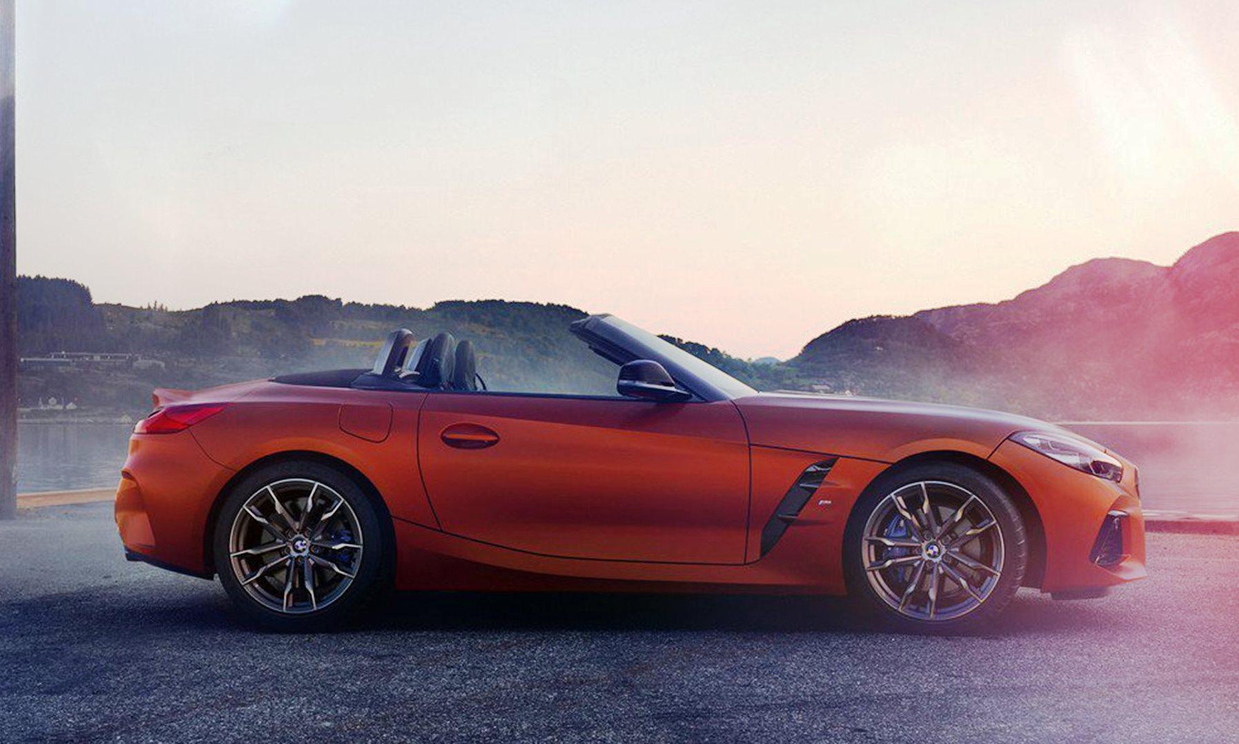 New BMW Z4 profile