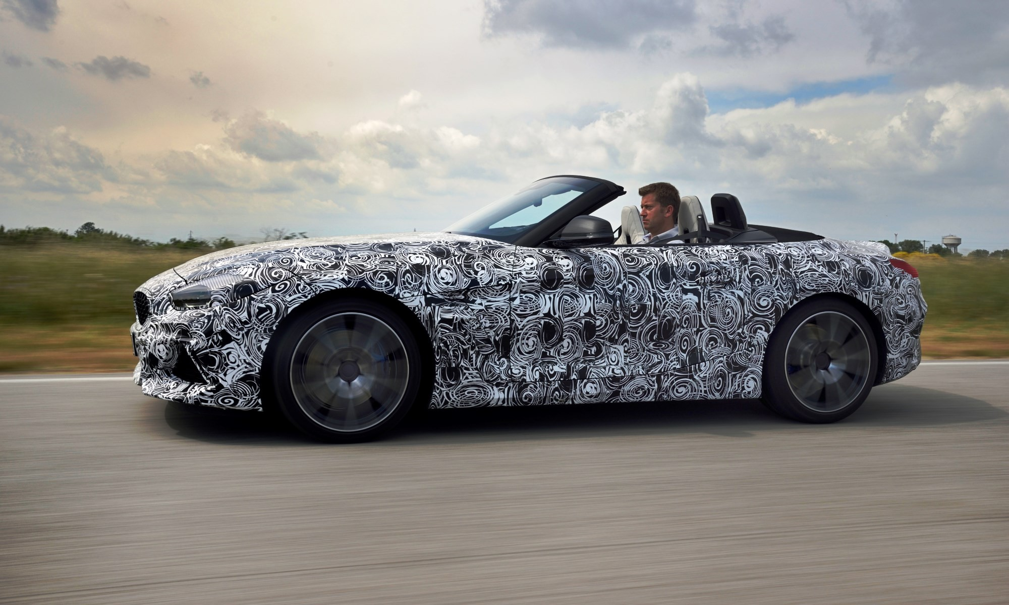 New BMW Z4 retains its predecessors proportions