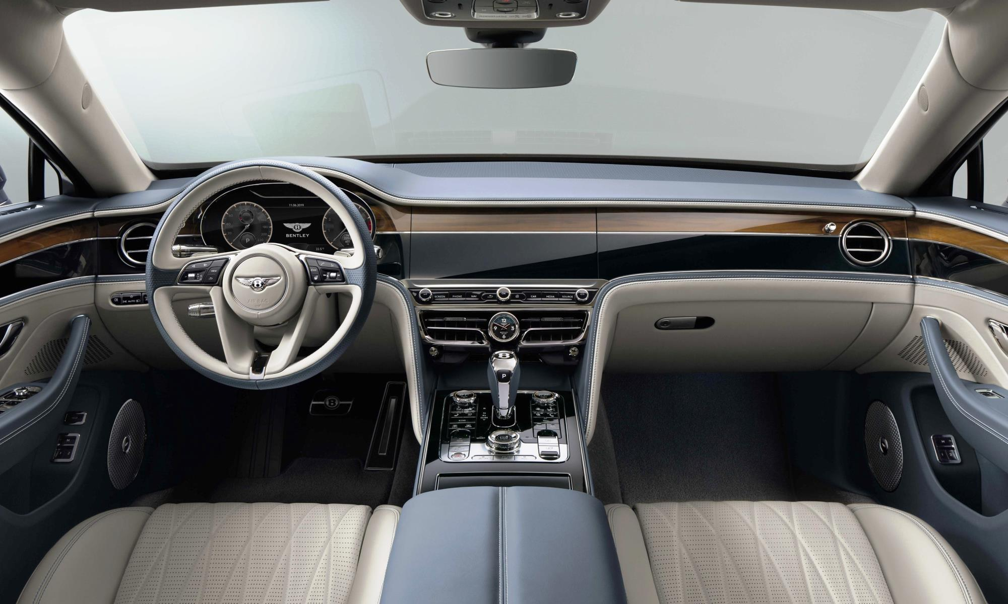 New Bentley Flying Spur interior