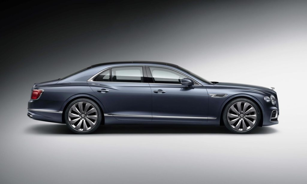 New Bentley Flying Spur profile