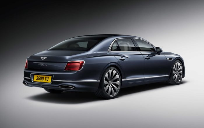 New Bentley Flying Spur rear