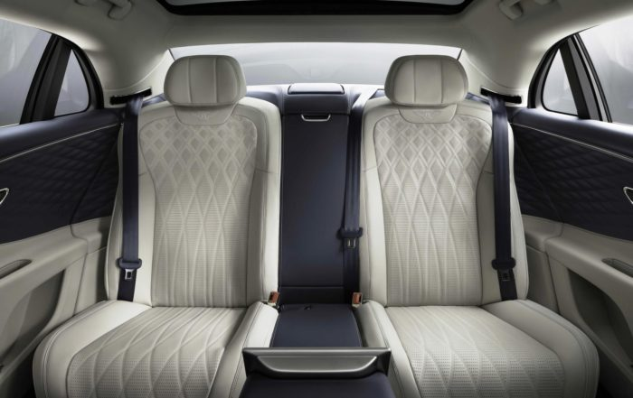 New Bentley Flying Spur rear cabin