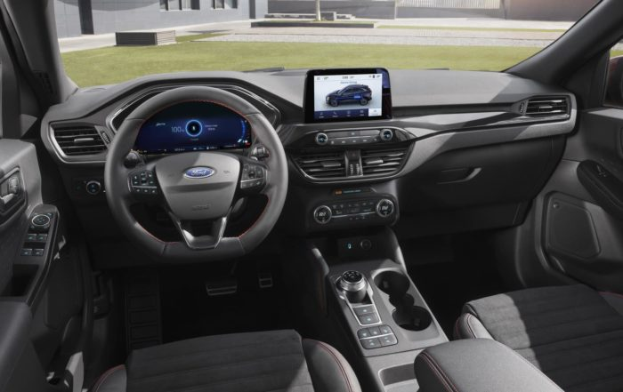 New Ford Kuga interior