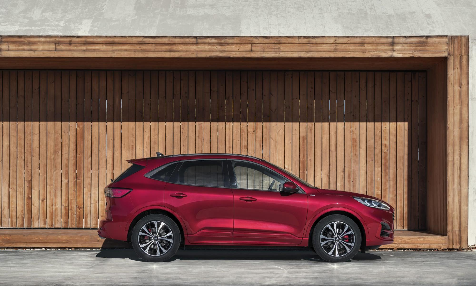 New Ford Kuga profile