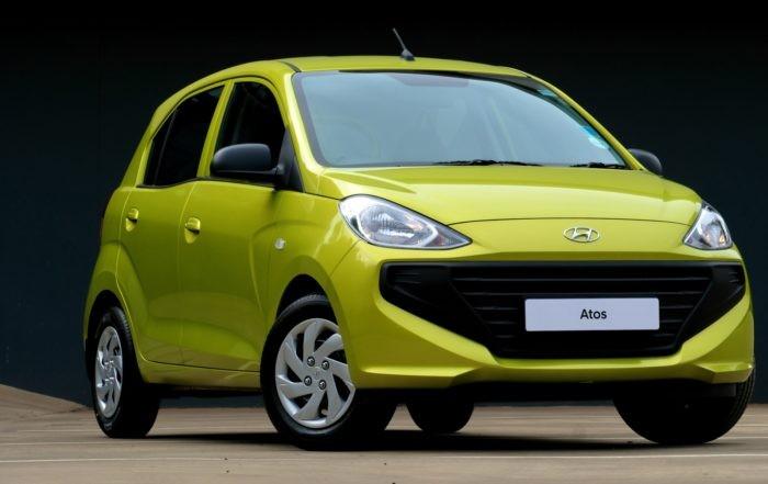 New Hyundai Atos front