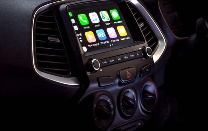 New Hyundai Atos touchscreen