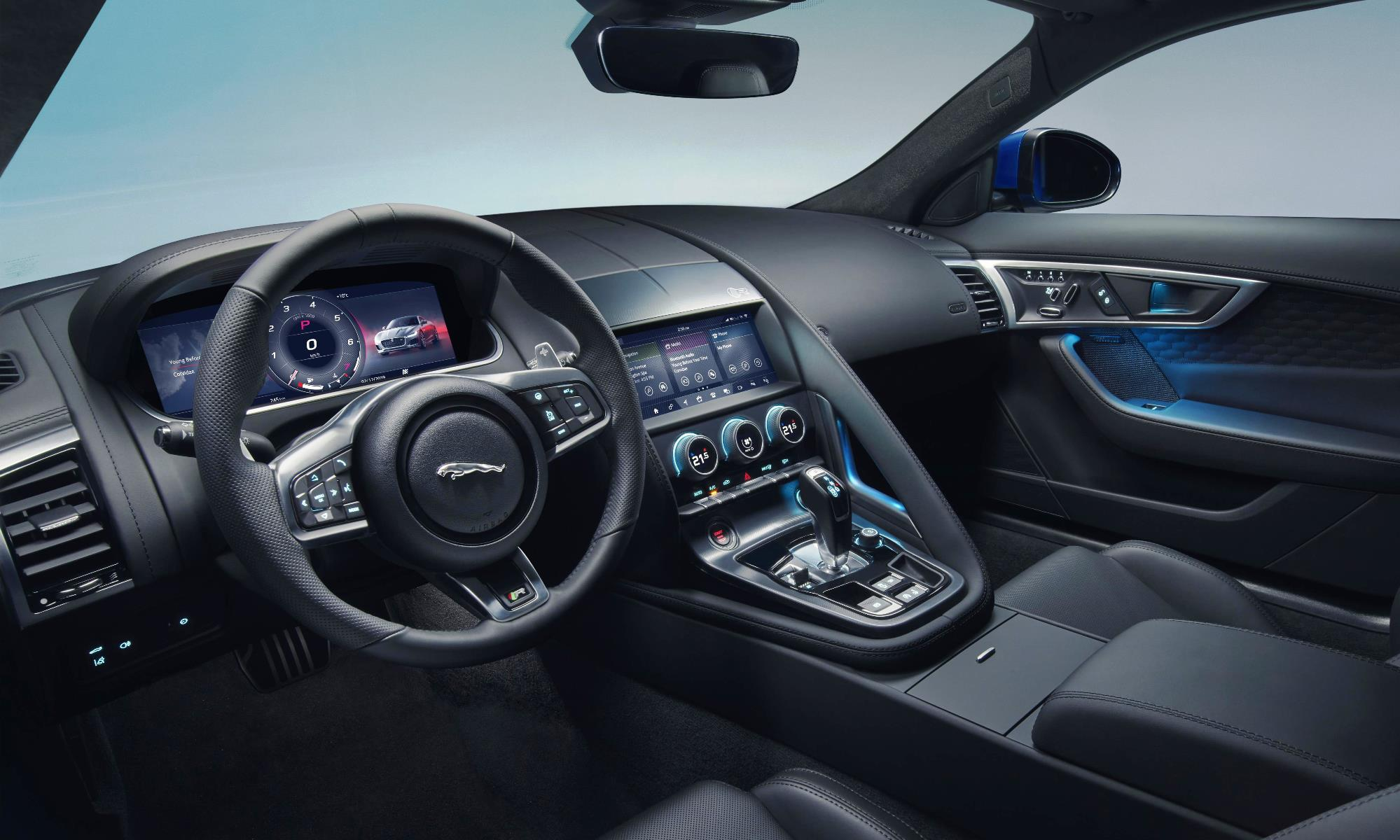 New Jaguar F-Type interior