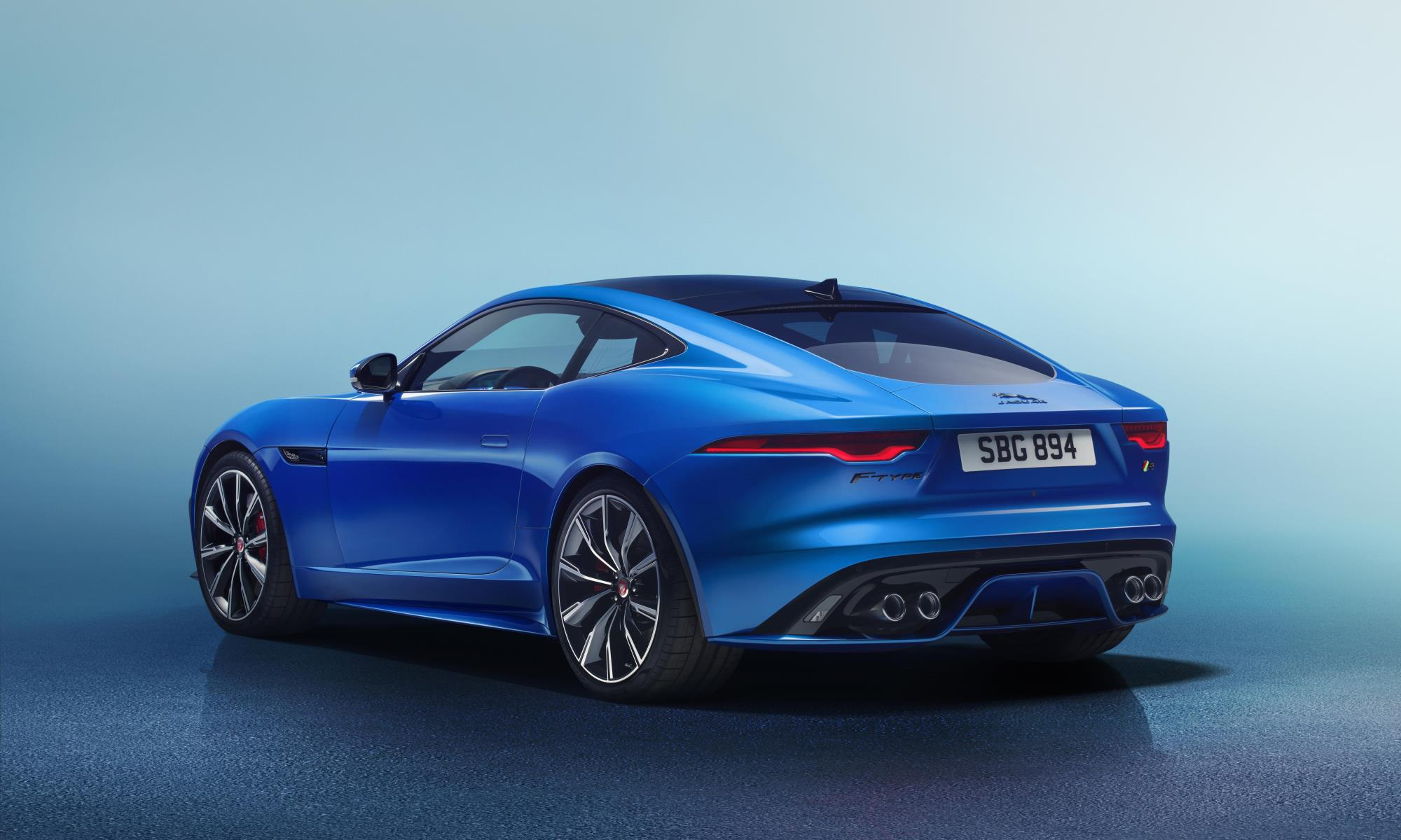 New Jaguar F-Type rear studio
