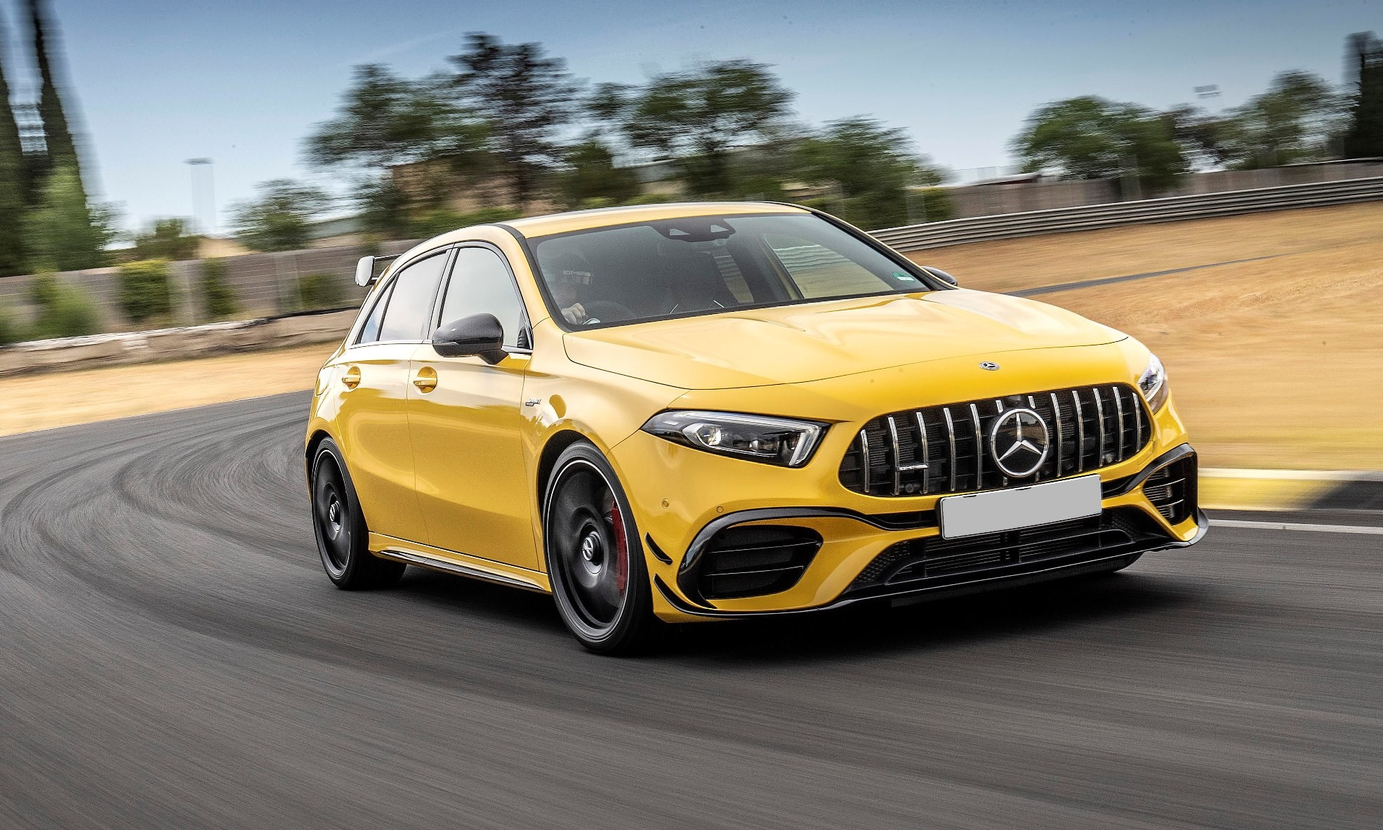New Mercedes-AMG A45S