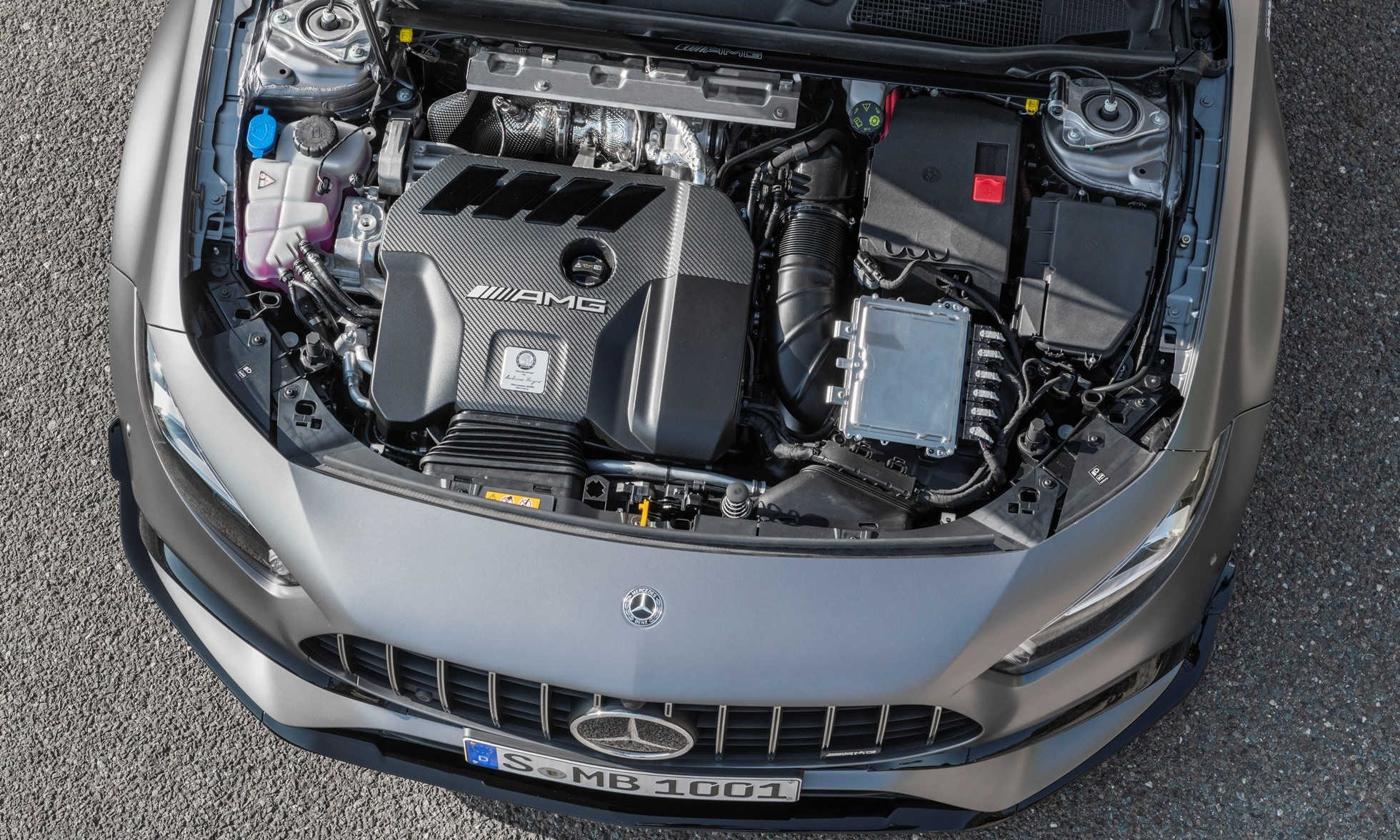 New Mercedes-AMG A45S engine