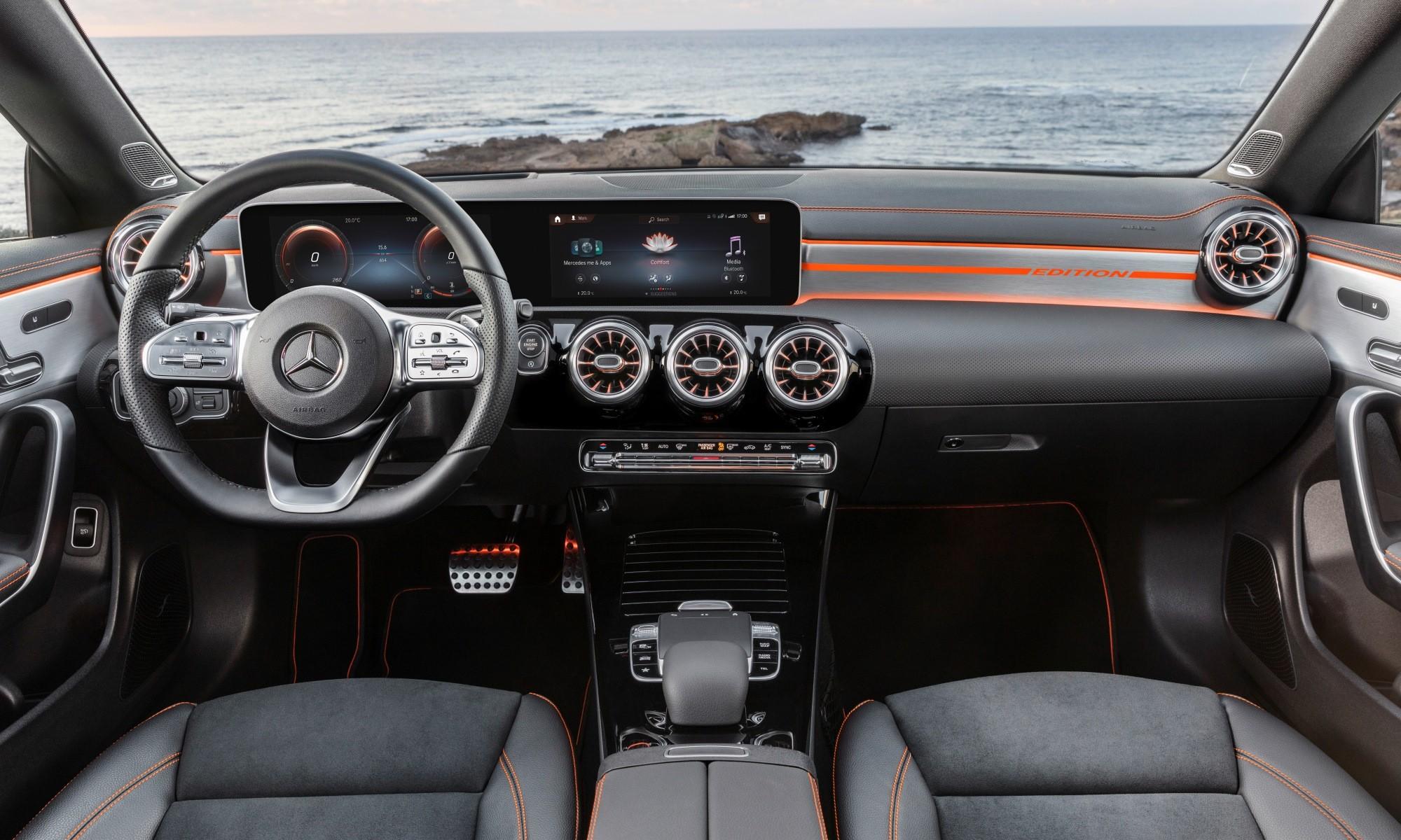 New Mercedes-Benz CLA interior