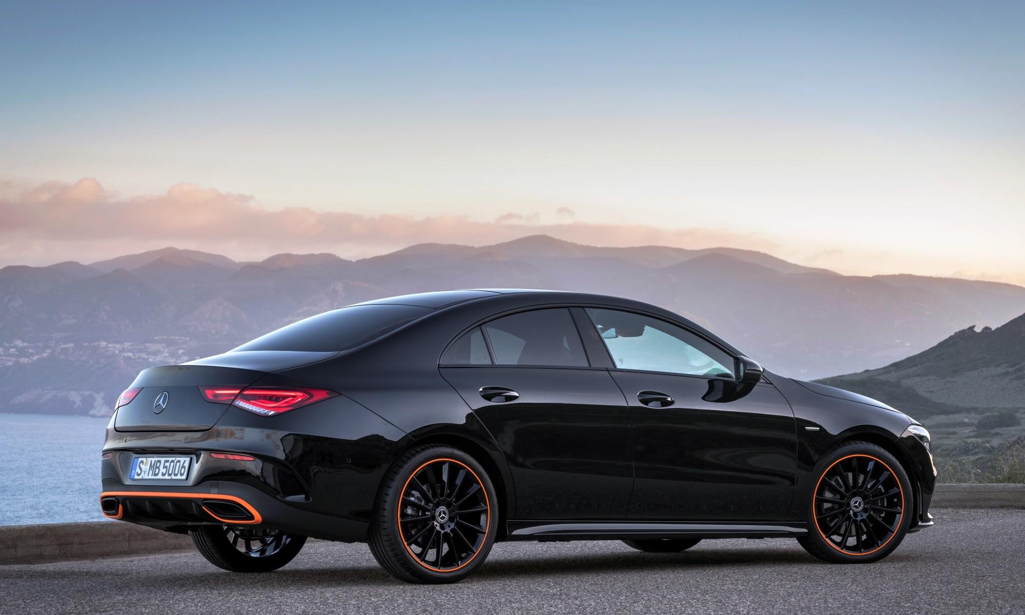 New Mercedes-Benz CLA rear