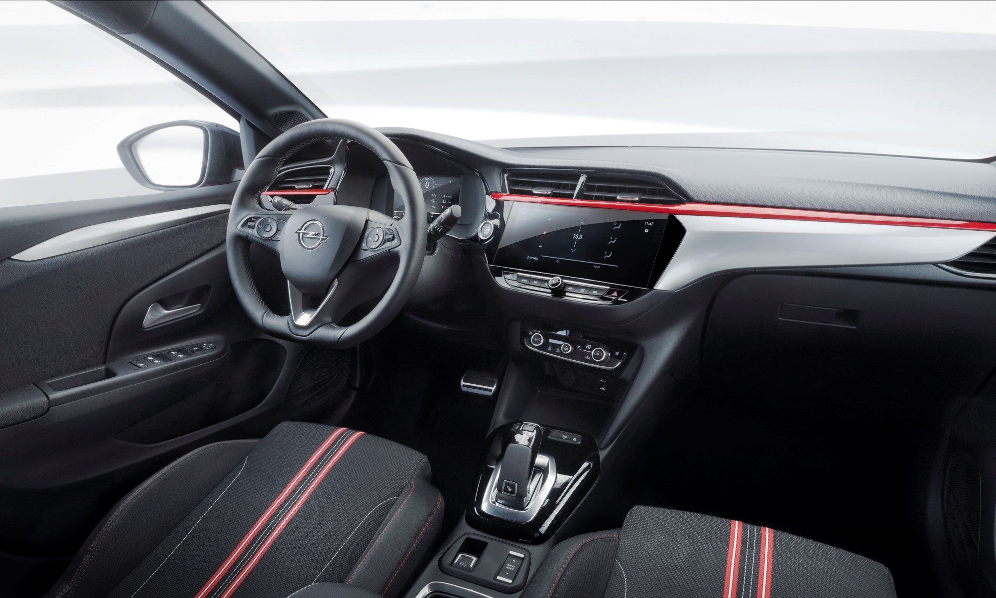 New Opel Corsa interior