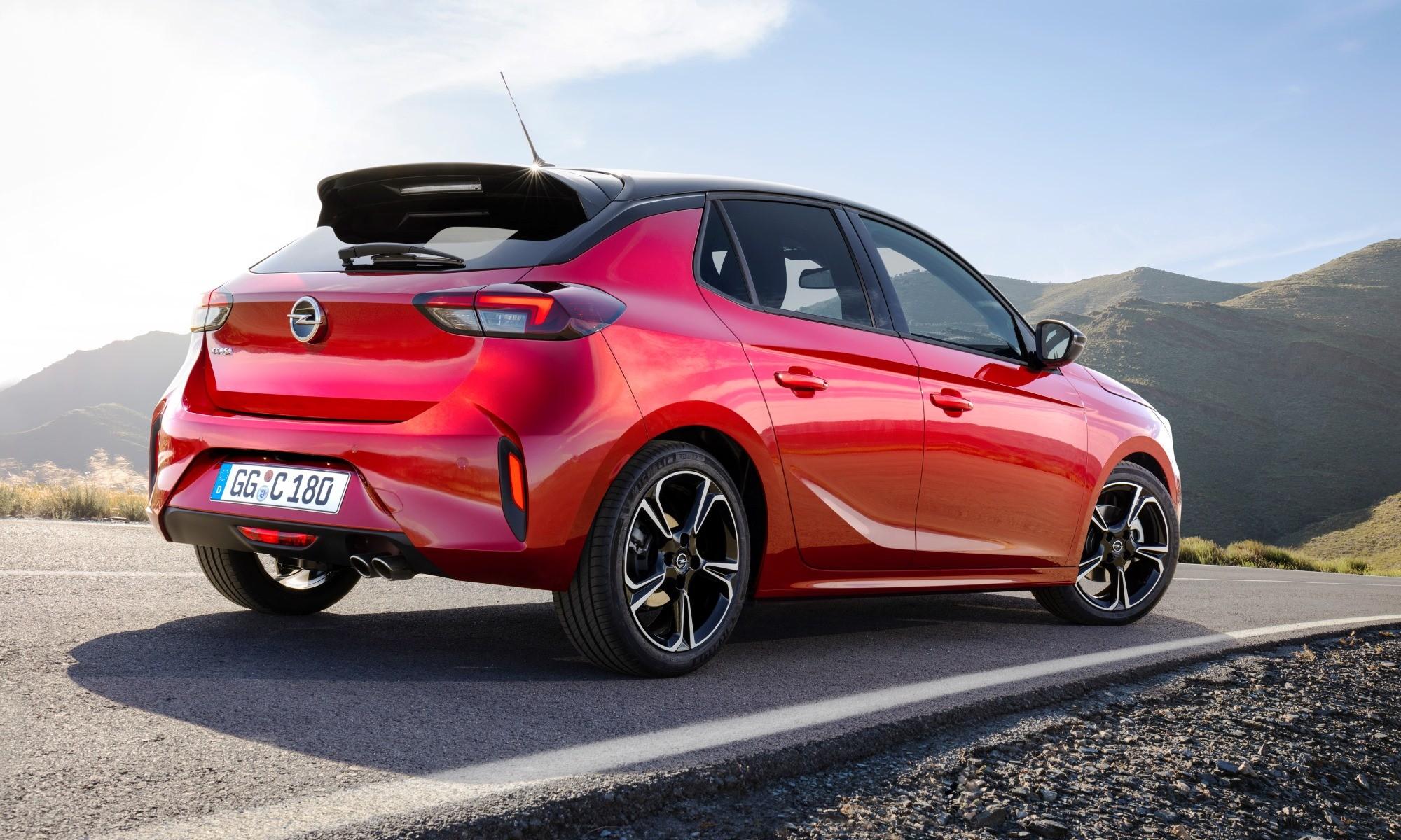 New Opel Corsa rear