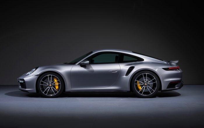 New Porsche 911 Turbo S Coupe profile