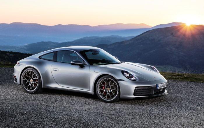 New Porsche 911 front