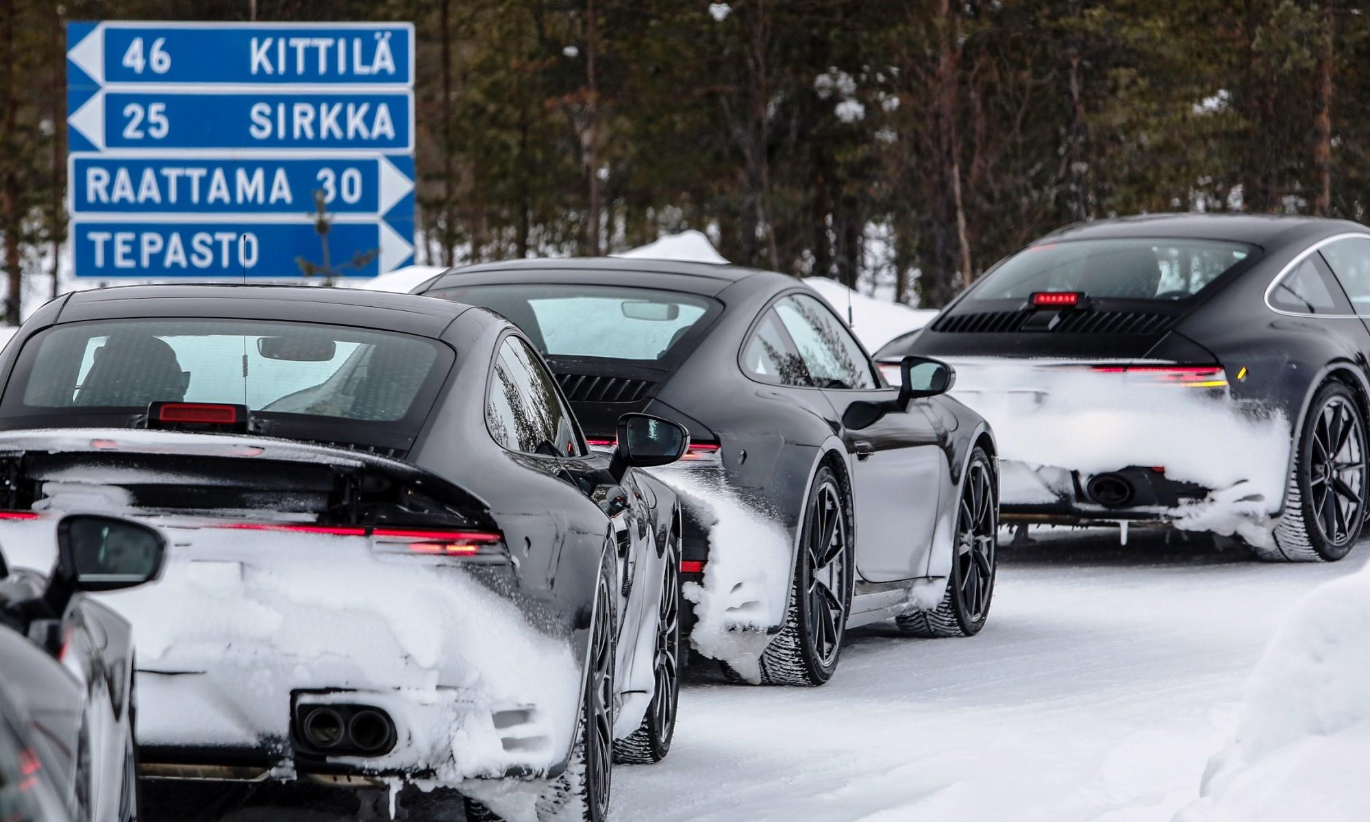 New Porsche 911 in Finland
