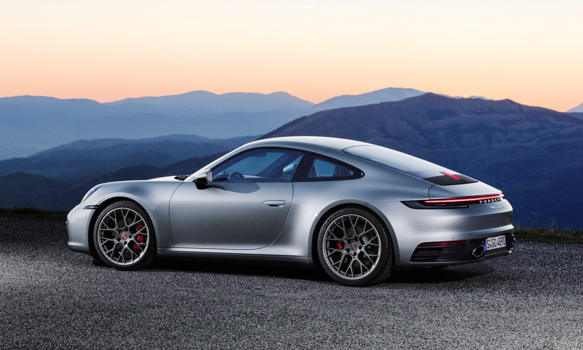 New Porsche 911 profile