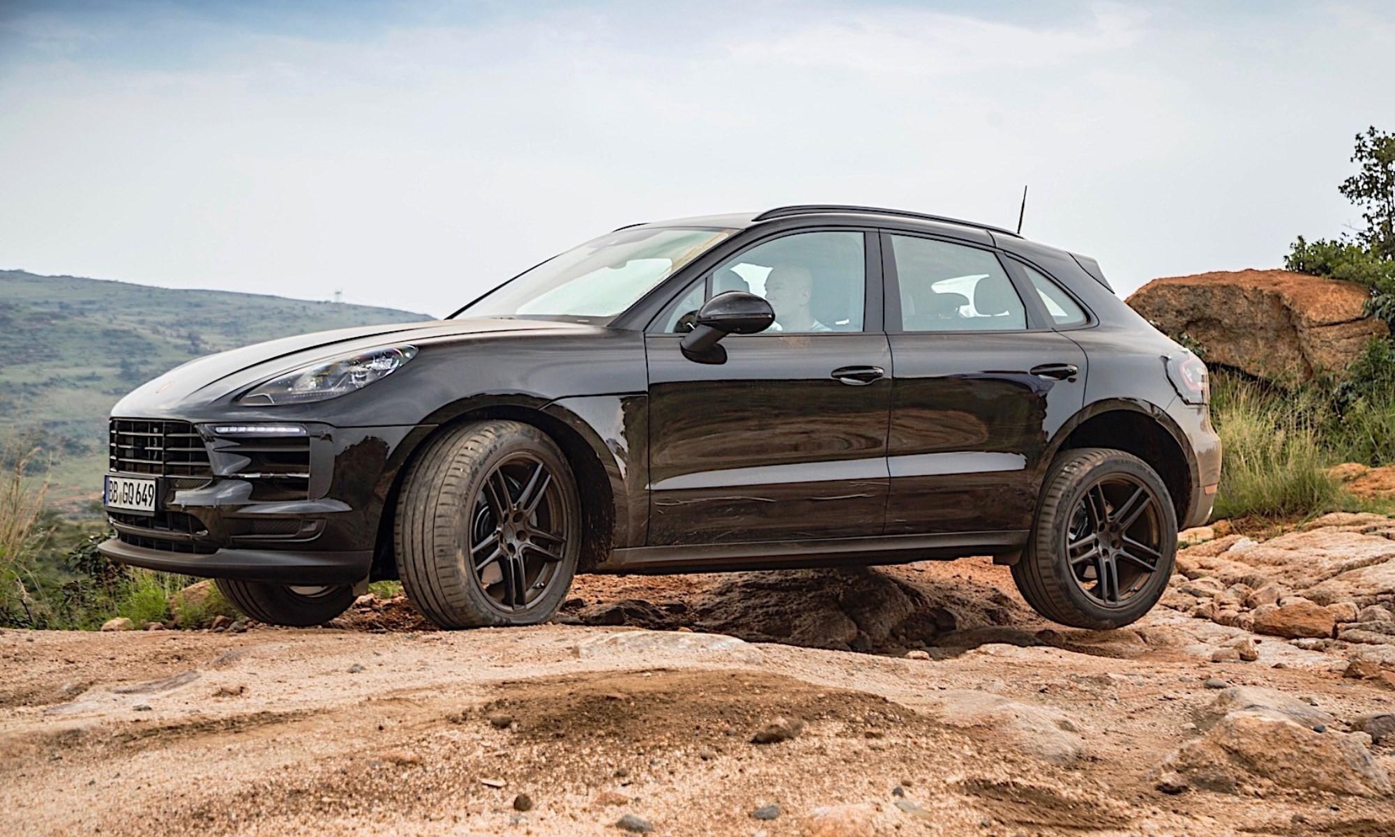 New Porsche Macan testing in Lesotho