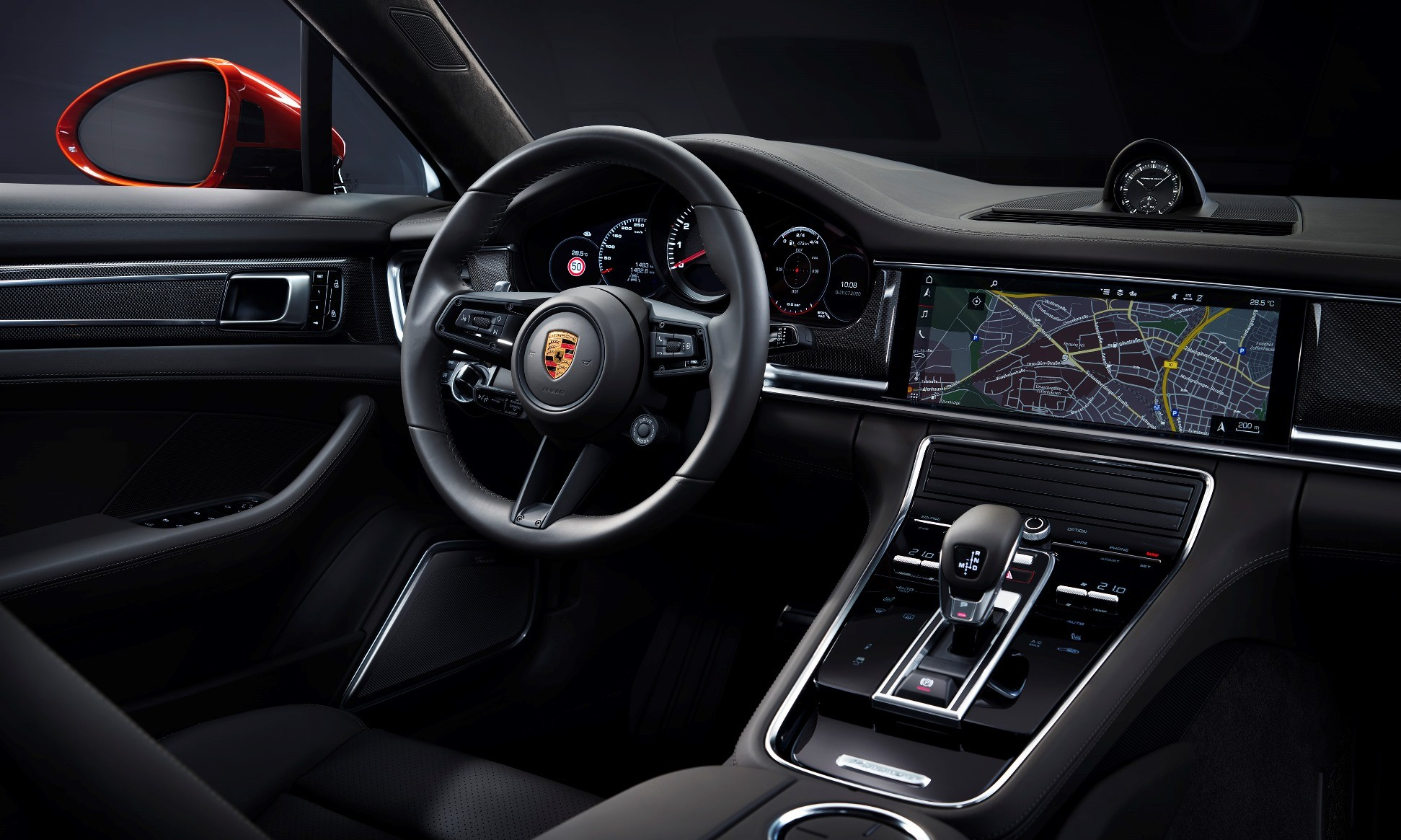 New Porsche Panamera interior
