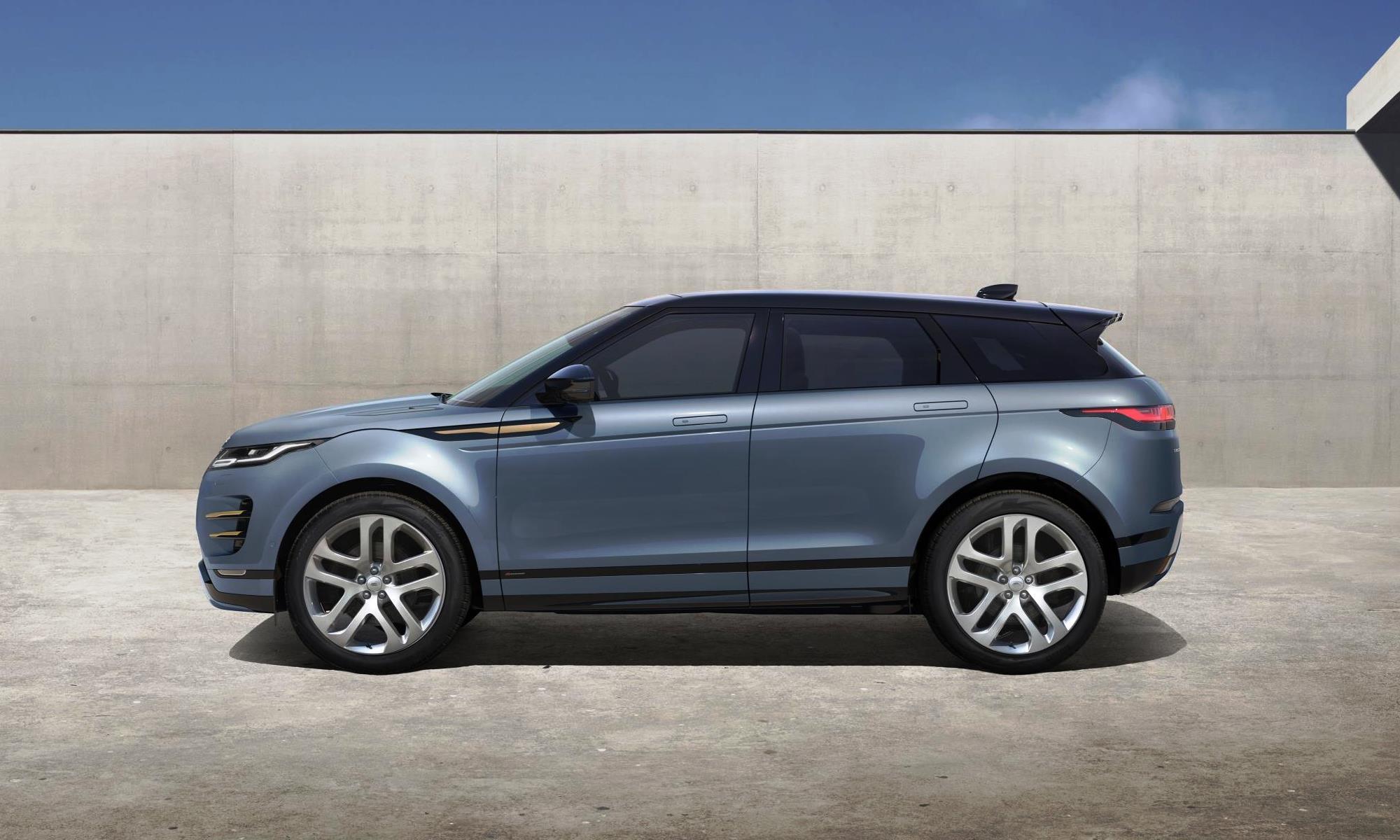 New Range Rover Evoque profile