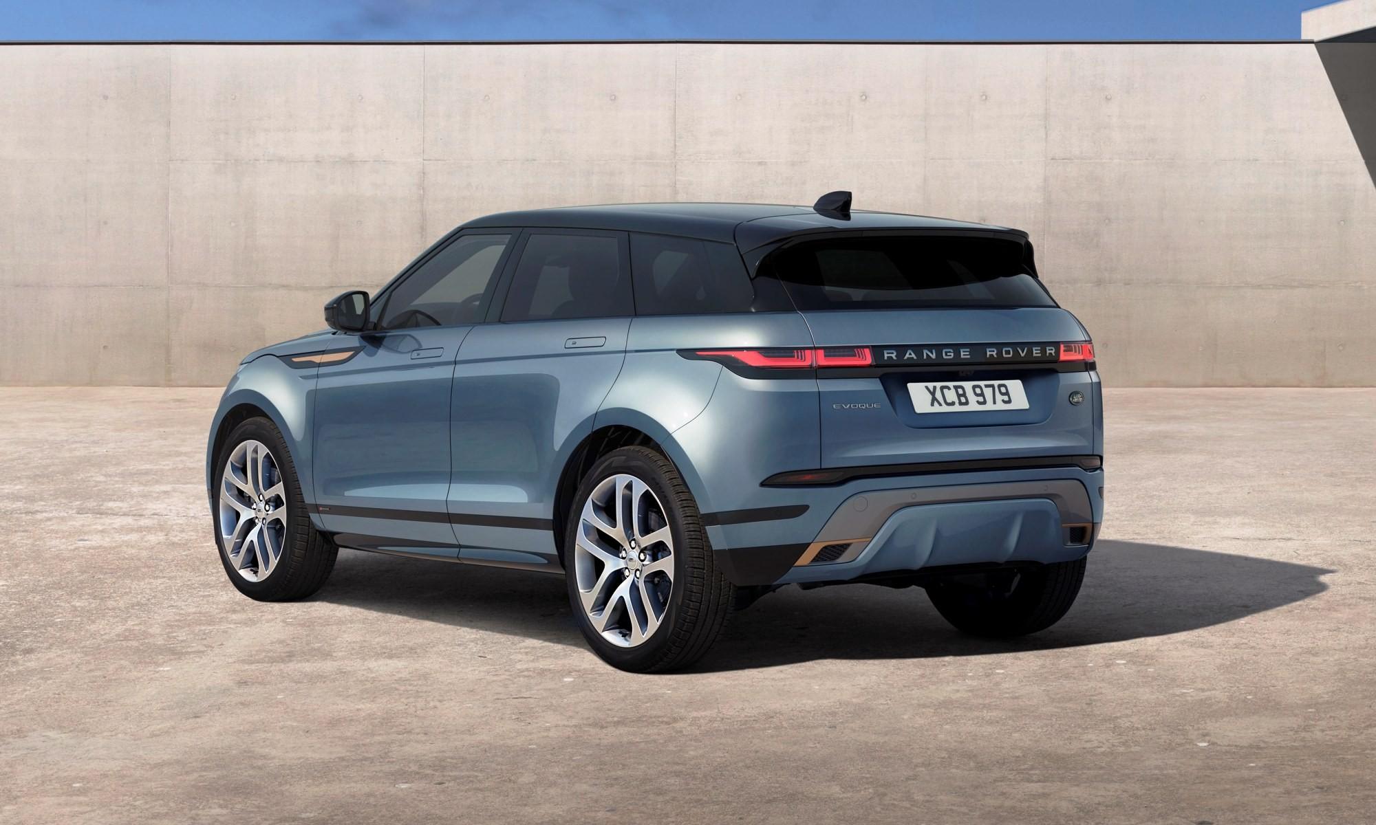 New Range Rover Evoque rear