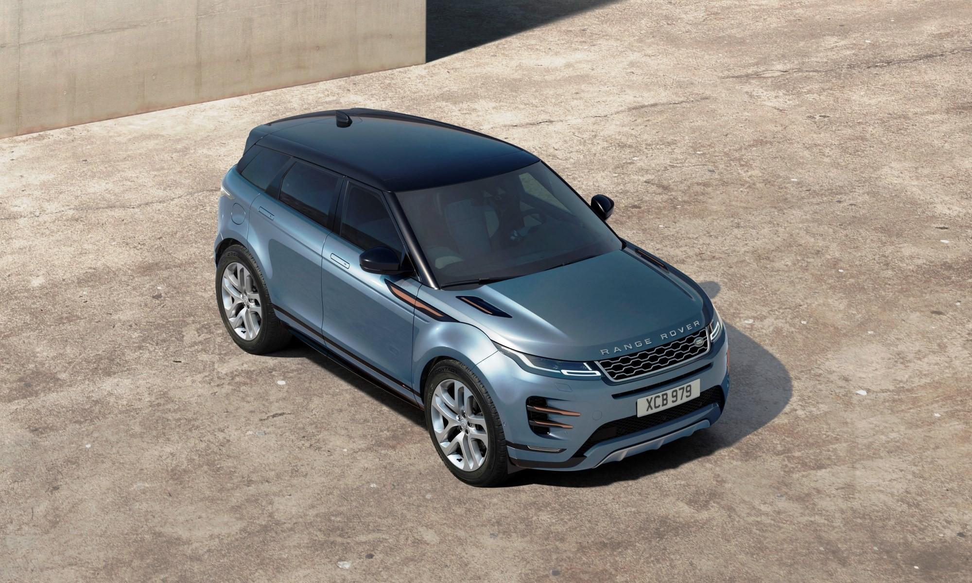 New Range Rover Evoque top