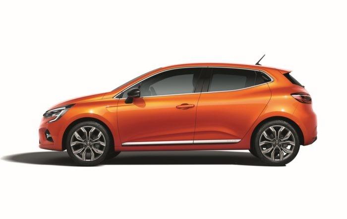 New Renault Clio profile