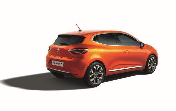New Renault Clio rear