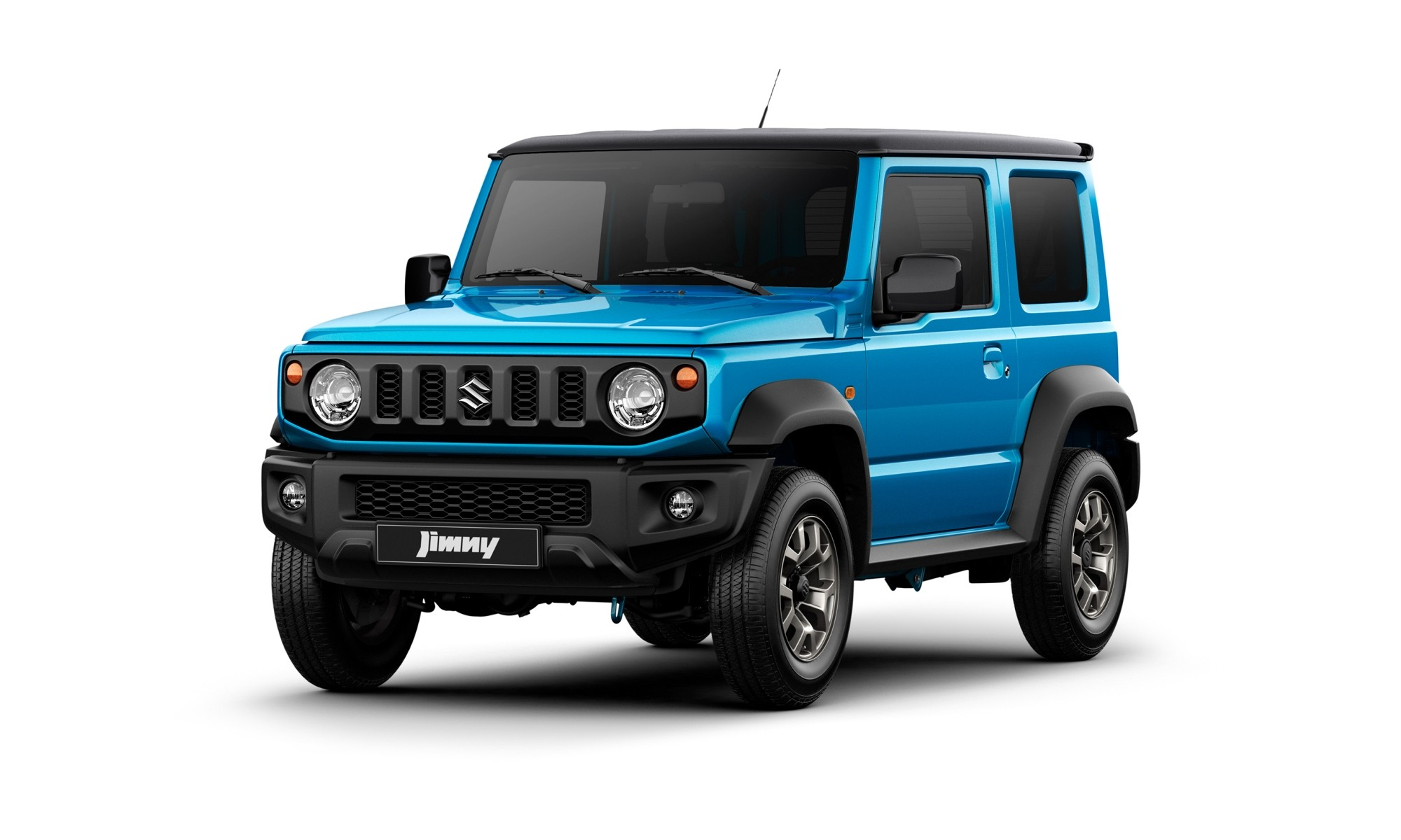 New Suzuki Jimny in a more striking metallic finish
