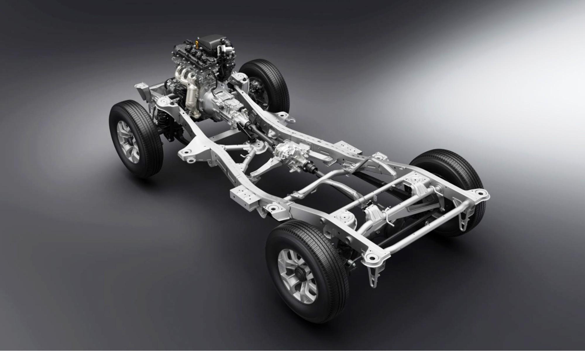 New Suzuki Jimny chassis