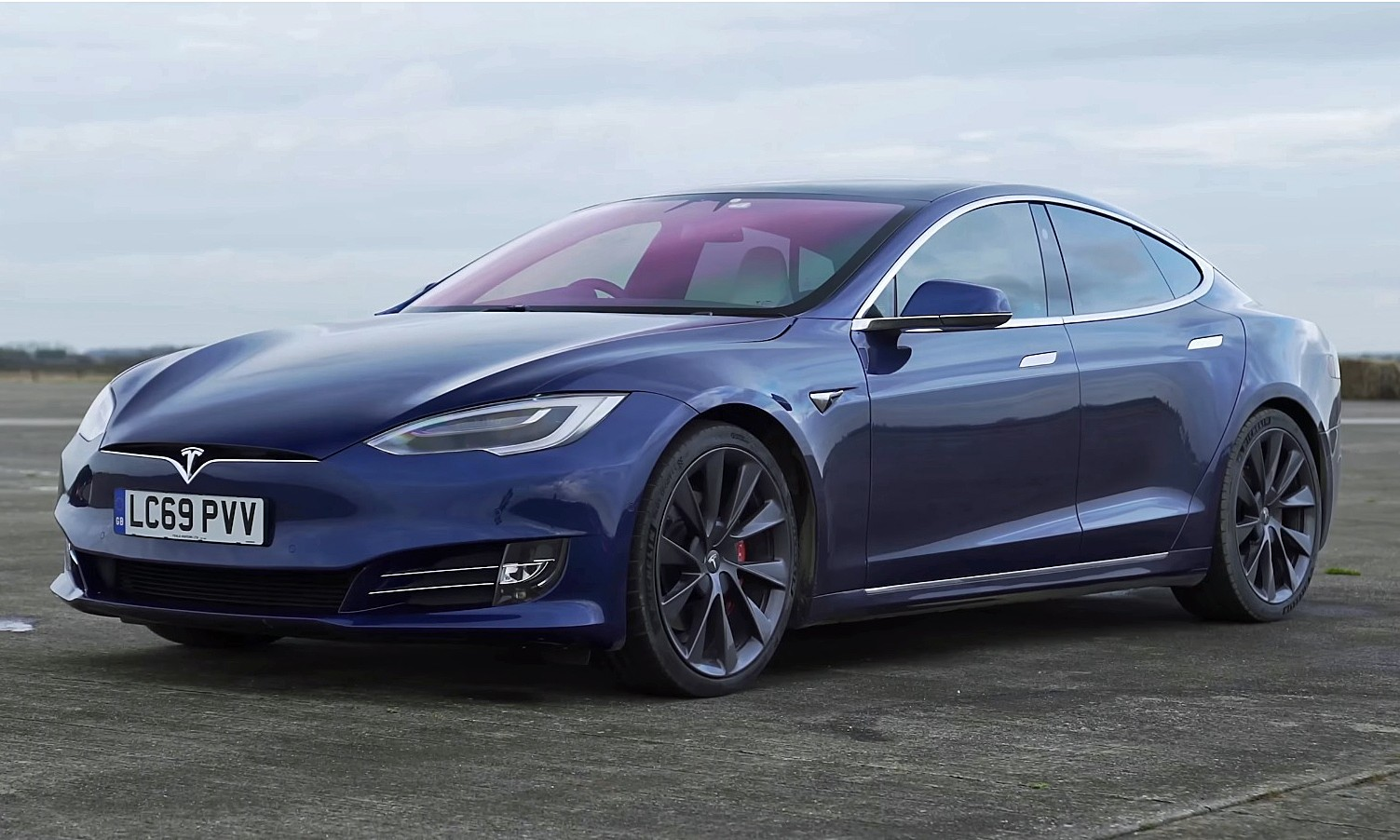 New Tesla Model S Performance