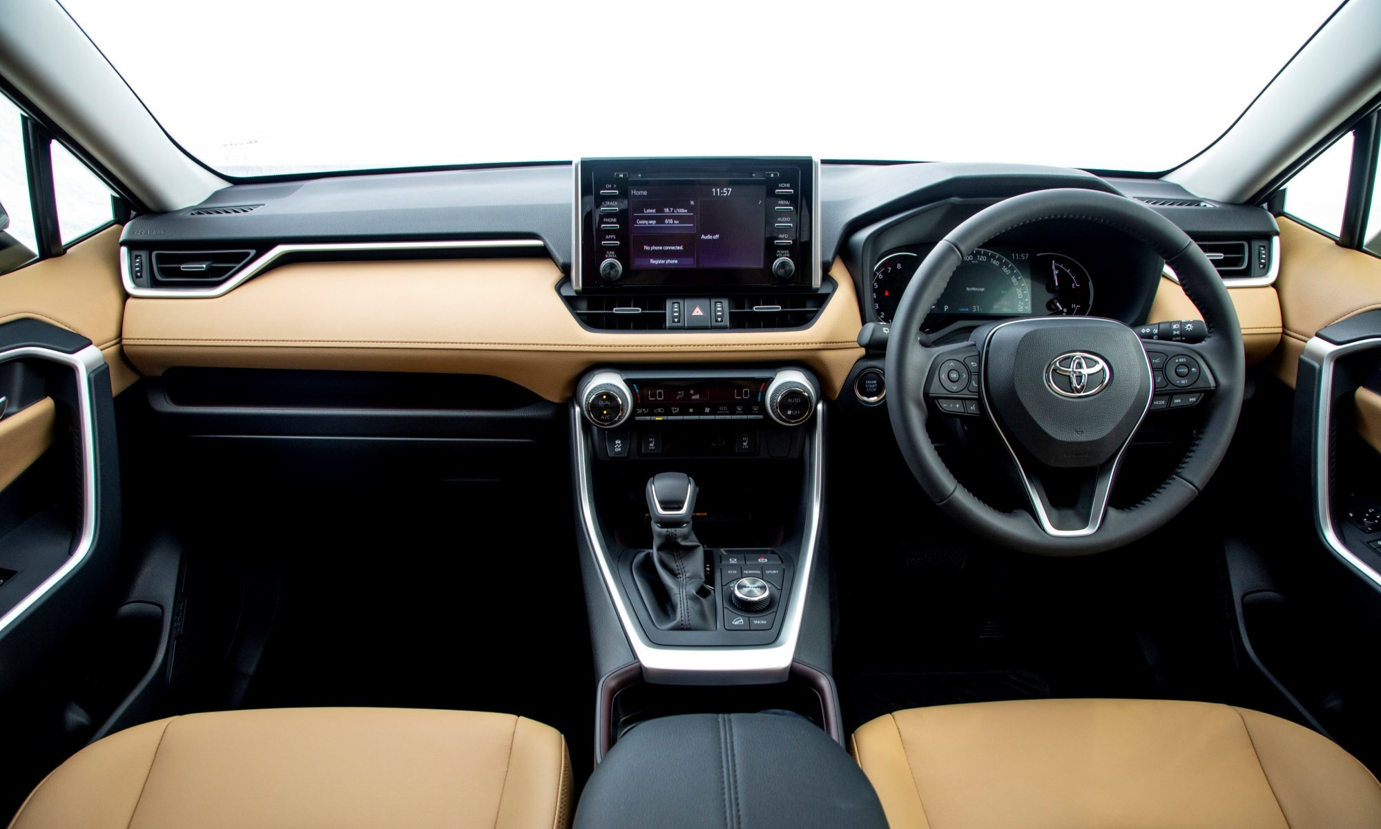 New Toyota RAV4 interior