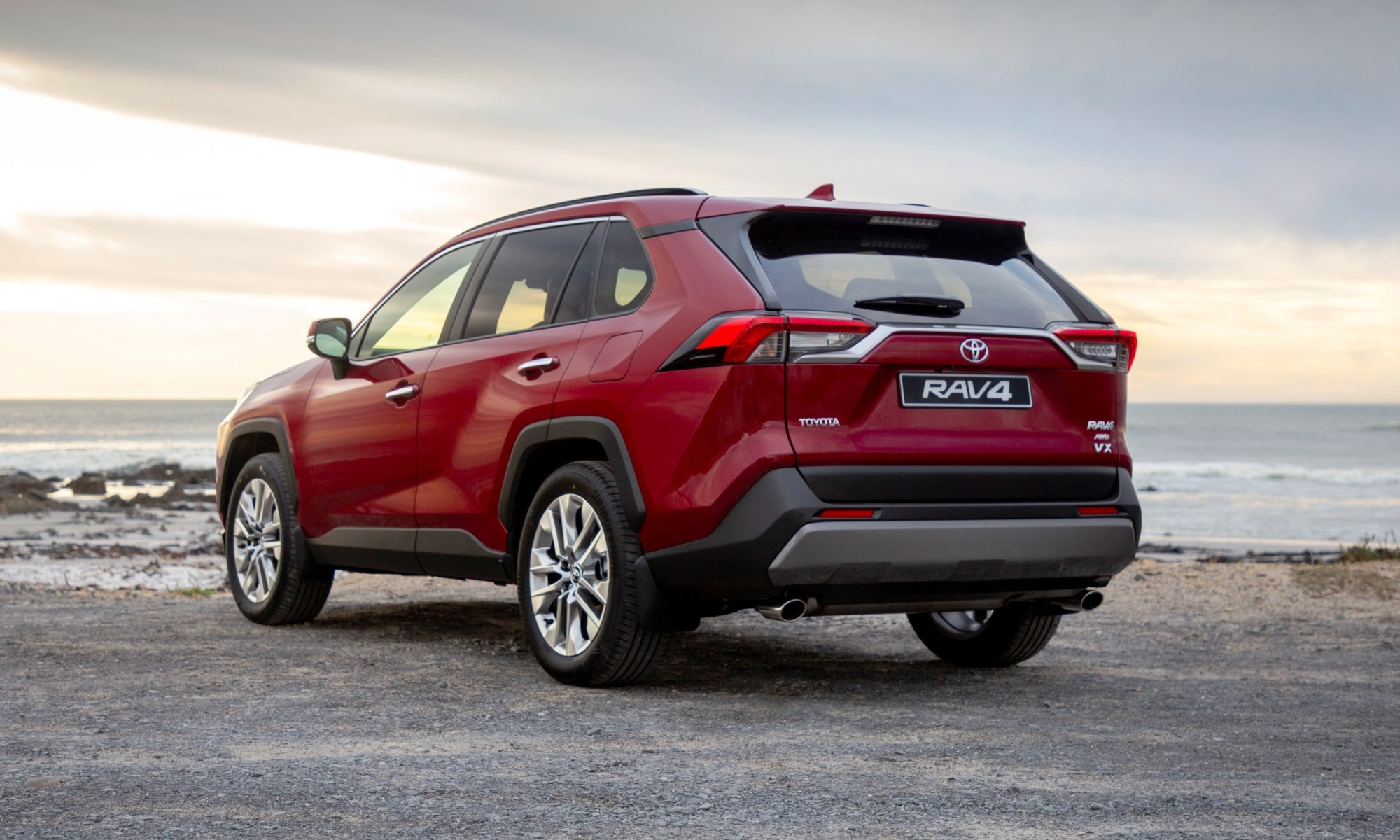 New Toyota RAV4 rear