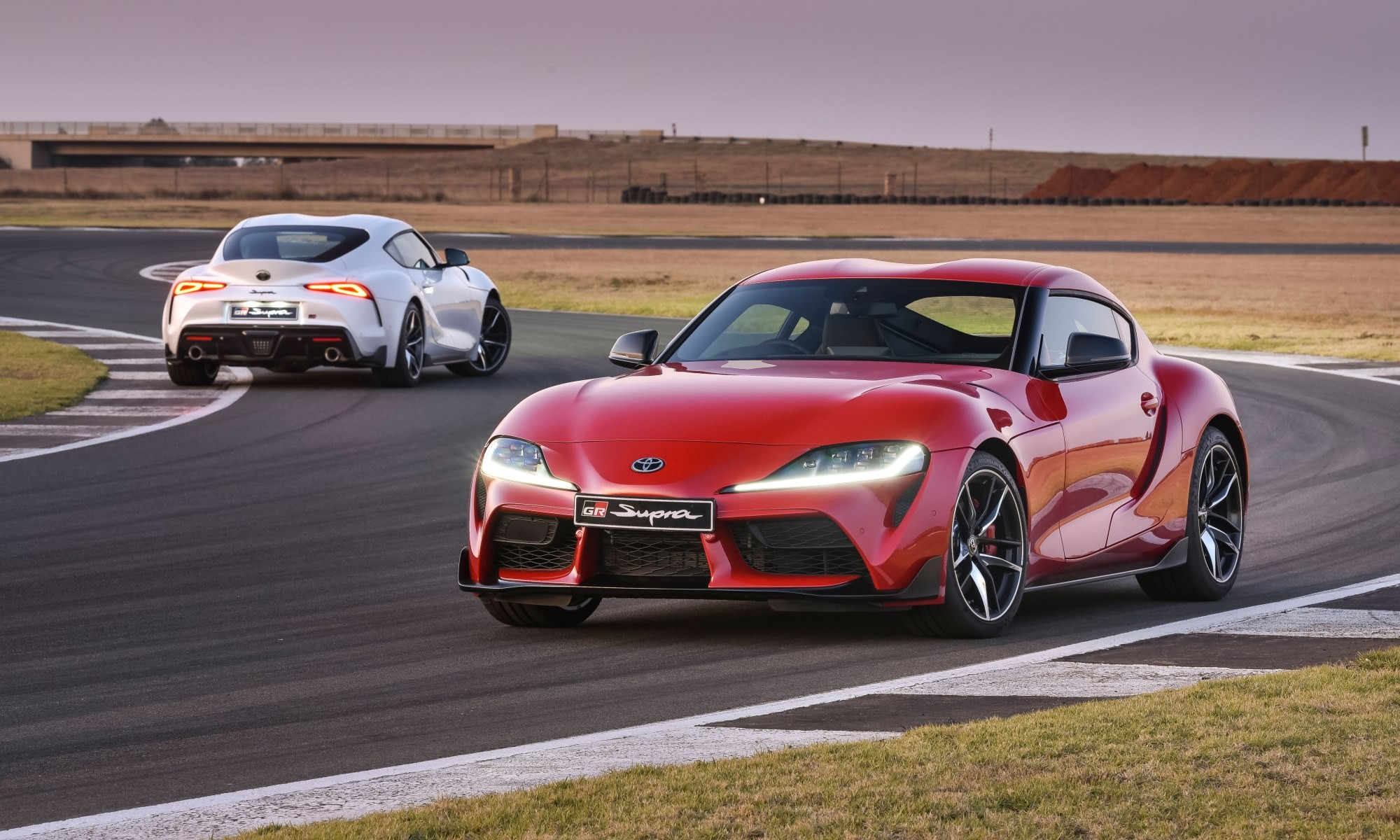 New Toyota Supra driven 4