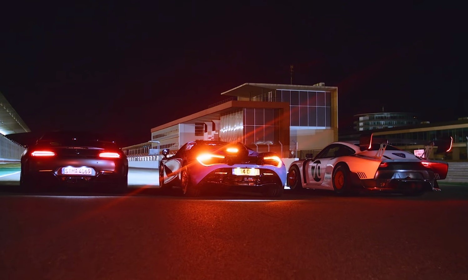Supercar Night Drag Race