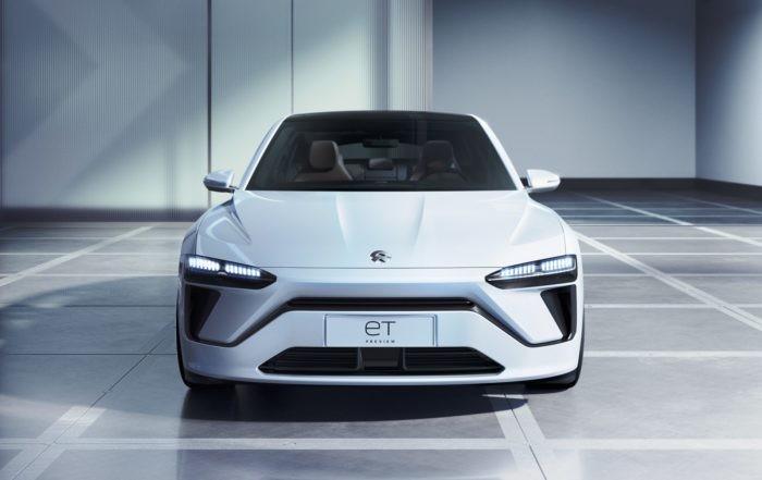 Nio ET Sedan front