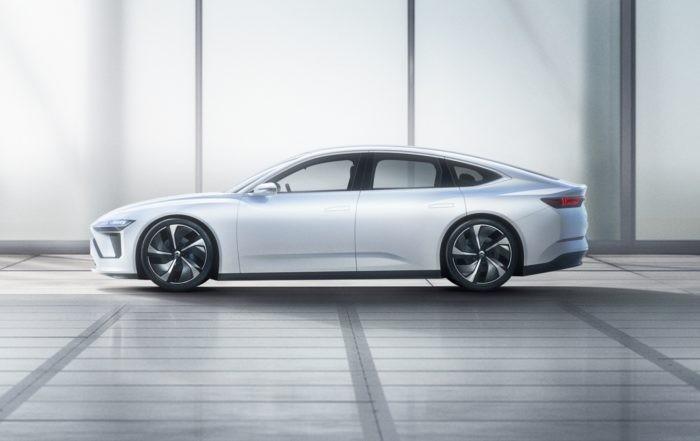 Nio ET Sedan profile