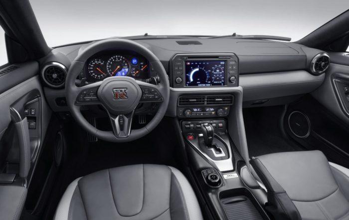Nissan GT-R 50th Anniversary interior