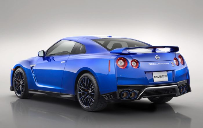 Nissan GT-R 50th Anniversary rear
