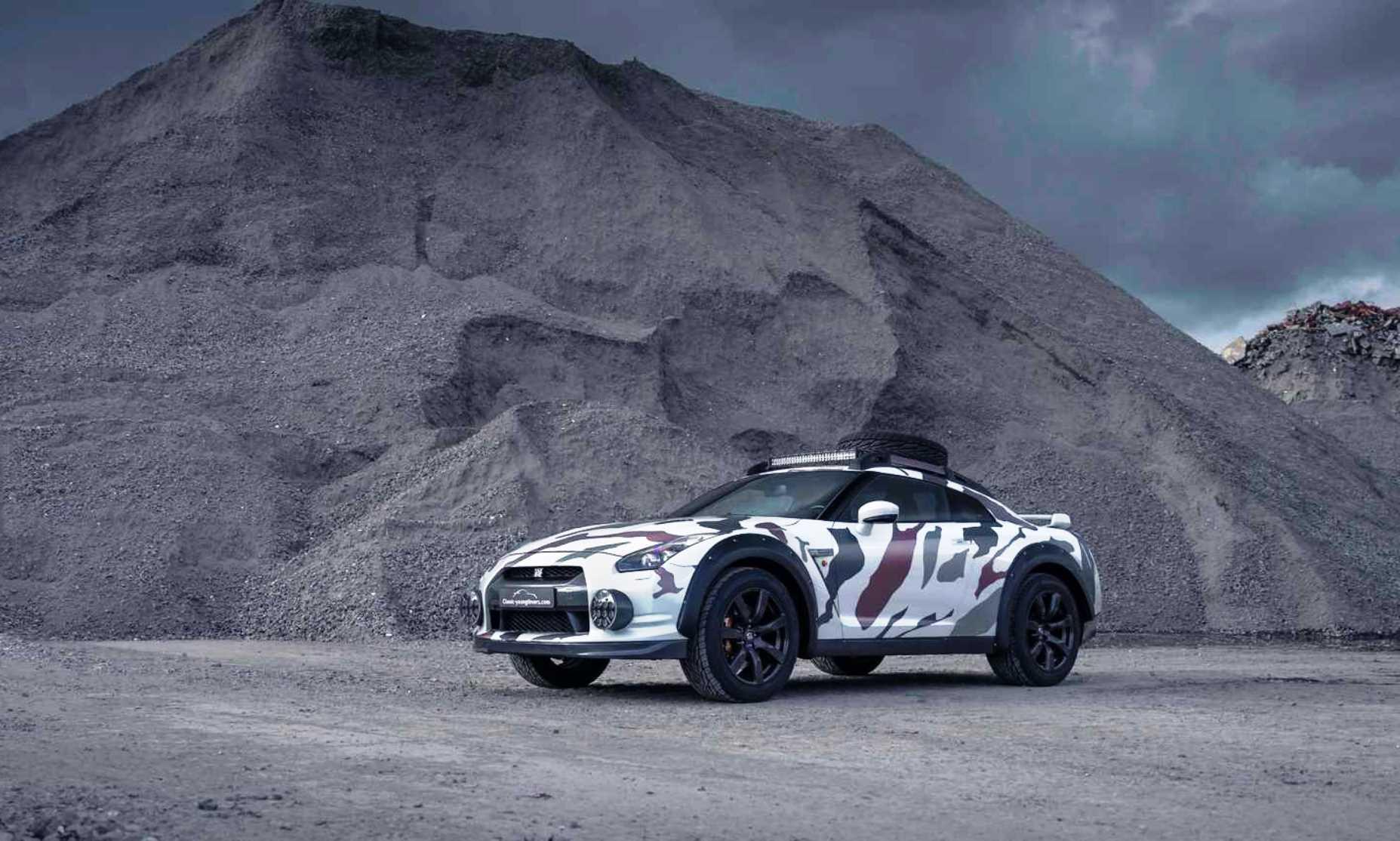 Nissan GT-R Off-Roader front