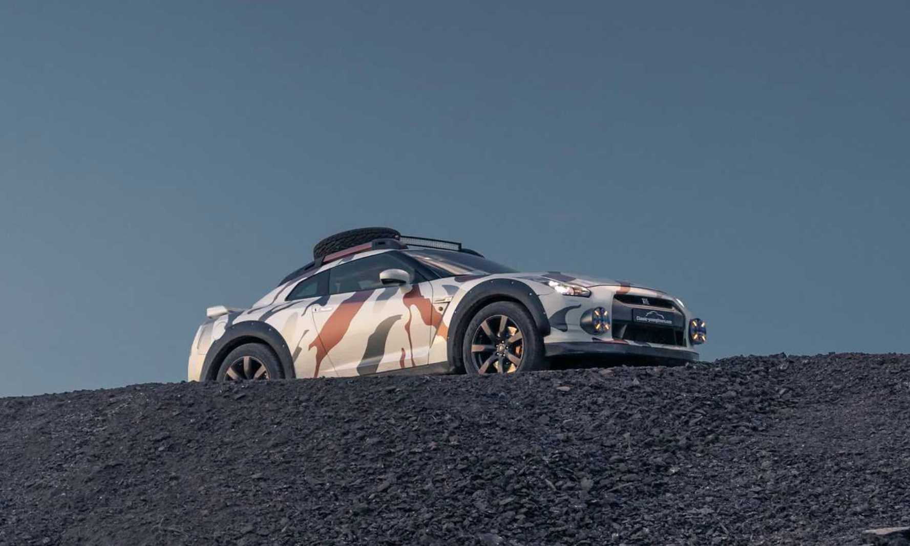 Nissan GT-R Off-Roader hillside