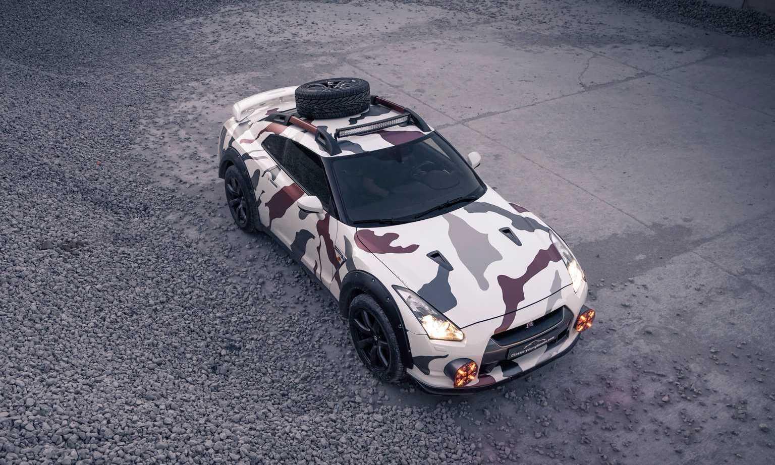Nissan GT-R Off-Roader overhead