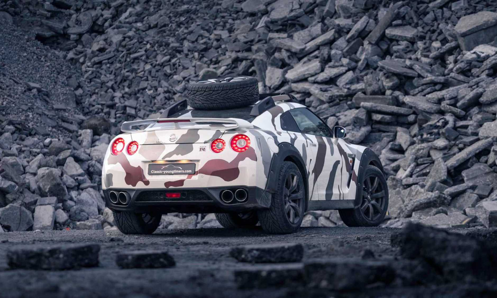 Nissan GT-R off-roader rear