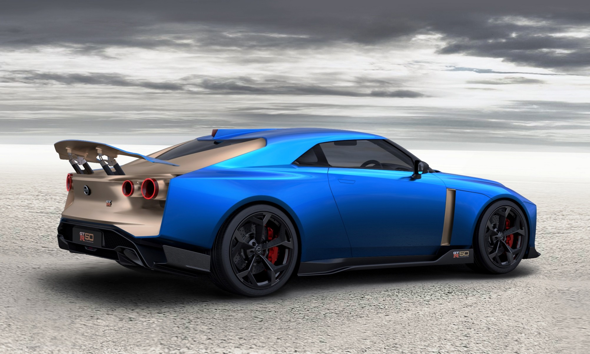 Nissan GT-R50 Production Version rear